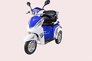 Ev3 Three Wheel Electric Mobility Scooter 500 Watt Motor / 48 Volt 20ah Battery