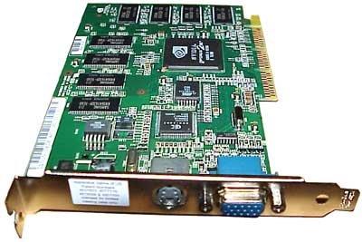 Dell Nvidia 64MB VGA-TV GeForce2MX AGP Card 3K538