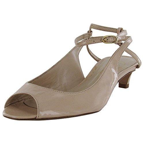 Delman Mujeres Hope - Tobillo Con Correa, Bomba, Zapato, Desnudo, Patente