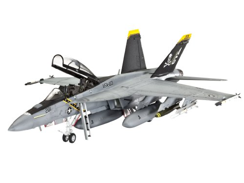Revell Germany F/A-18F Super Hornet Model Kit Super Hornet Model Kit