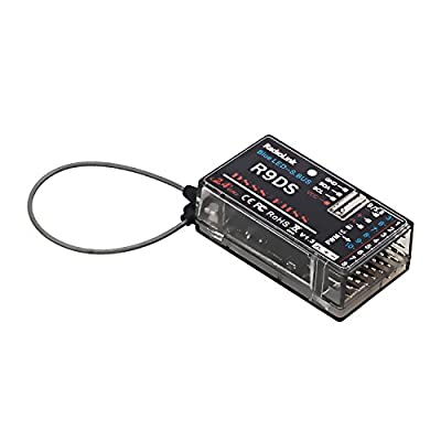 Radiolink R9DS 2.4GHz RC Receiver 9/10CH SBUS/PWM Signal Long Range Control for AT9/AT9S/AT10II/AT10: Toys & Games