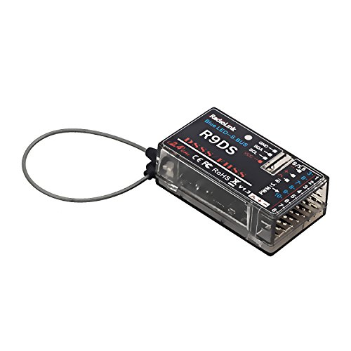 Radiolink R9DS 2.4GHz RC Receiver 10CH SBUS/PWM Signal DSSS/FHSS Spread Spectrum Compatible with AT9/AT9S/AT10II/AT10