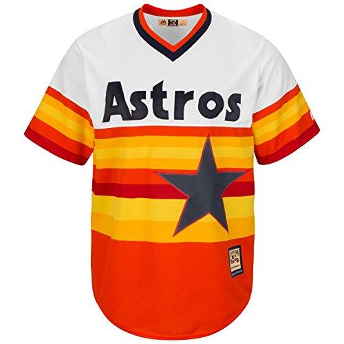 Majestic Houston Astros Cool Base Rainbow Jersey (Large)