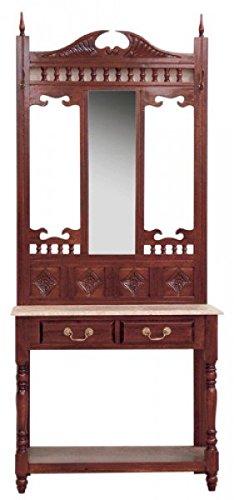 Espejo & Pared Mesa de Caoba 205 x 85 x 40 - Tocador Espejo ...