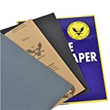 Abrasive Paper Water Resistant Sandpaper Polish Sandpaper 2000 Granularity