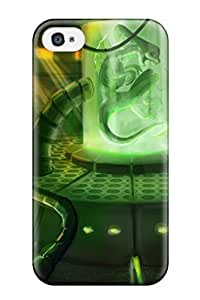 Best For Apple Iphone 4/4S Case Cover , Premium Case With Look - Alien 4656308K35420910