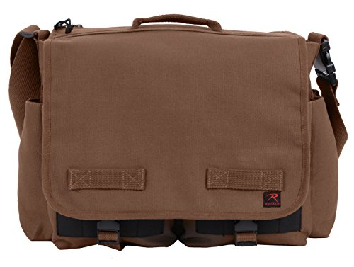 Rothco Concealed Carry Messenger Bag, Earth Brown (Best Concealed Carry Bag)