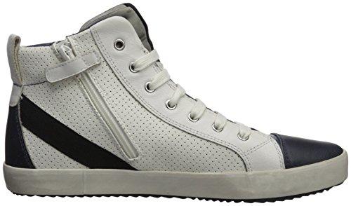 Bambino Alonisso Geox Bianco Alto Collo white A navy J A Sneaker Z7Sq7