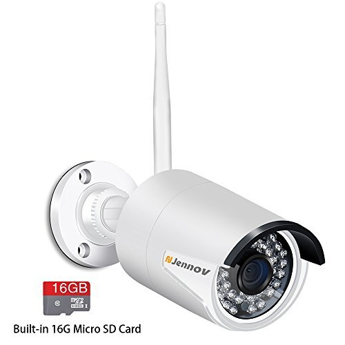 Jennov 720p Wifi Wireless Security Cameras Outdoor