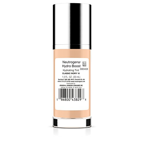 Neutrogena Hydro Boost Hydrating Tint, 1.0 Fl. Oz. 10 / Classic Ivory