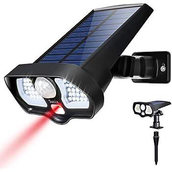 Amazon Com Solar Motion Sensor Light Outdoor Super