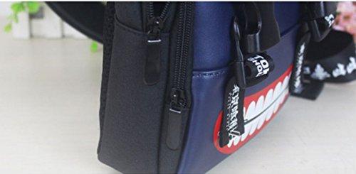 rare Schultertasche Tasche Shoulder Bag Rucksack reisetaschen Pirat Gebiss FATE Gintama Tokyo Ghoul One piece Attack On Titan Fairy Tail new