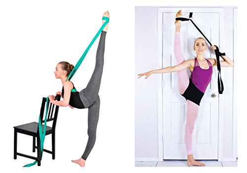 SUPERIORBAND® + STRETCHMAX = Best Selling Ballet Stretch Band and Best Selling Leg Stretching Strap... in One Special Bundle (Max Dancer On Dancing With The Stars)