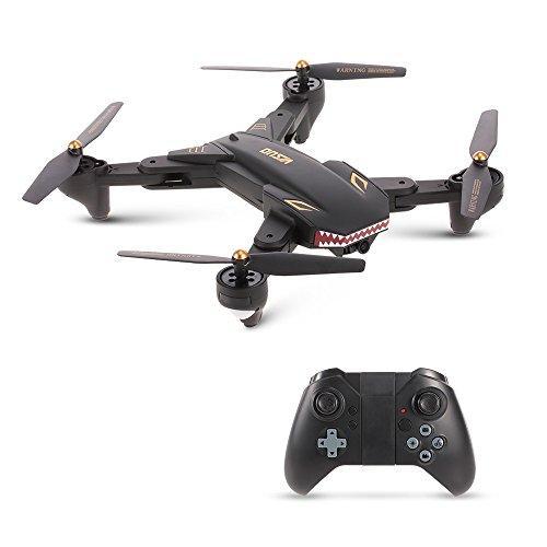 Goolsky VISUO XS809S 2.0MP Wide Angle Camera Wifi FPV Foldable Drone One Key Return Altitude Hold G-sensor Quadcopter