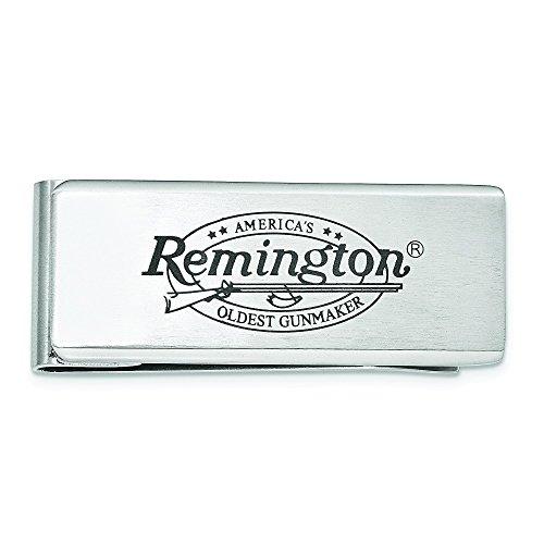 Remington Guns Stainless Steel Money Clip