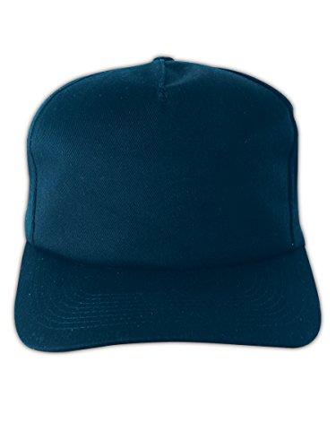 Occunomix V410NB Baseball Style Bump Cap, Polyethylene Insert, Navy
