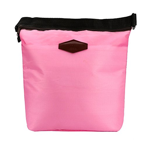 HighlifeS Lunch Bag Waterproof Thermal Fashion Cooler Insulated Lunch Box More Colors Portable Tote Storage Picnic Bags (Pink) by HighlifeS (Image #7)