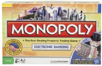 Monopoly/ /Electronic Banking Hasbro B6677105