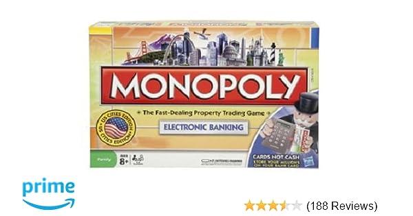 Amazon Monopoly Electronic Banking Edition Toys Games
