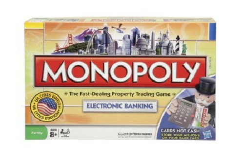 Amazon Monopoly Electronic Banking Edition Toys Games