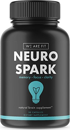 Extra Strength Natural Brain Function Support For Memory  Focus   Clarity   Mental Performance Nootropic   Brain Booster With Ginkgo Biloba  St  Johns Wort    More