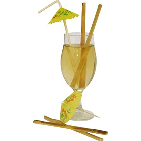 Raw Sugar Cane Swizzle Sticks – Pack of 20