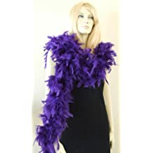 Purple Chandelle Feather Boa for Girls Princess Tea Party Dress up Costume