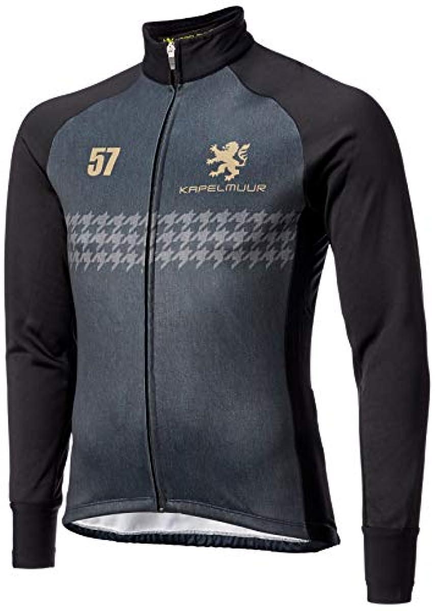 [해외] [카펠뮤르] 사이클링 레이싱 사모 재킷 블랙 데님 프린트 KPJK602 맨즈/레이디스