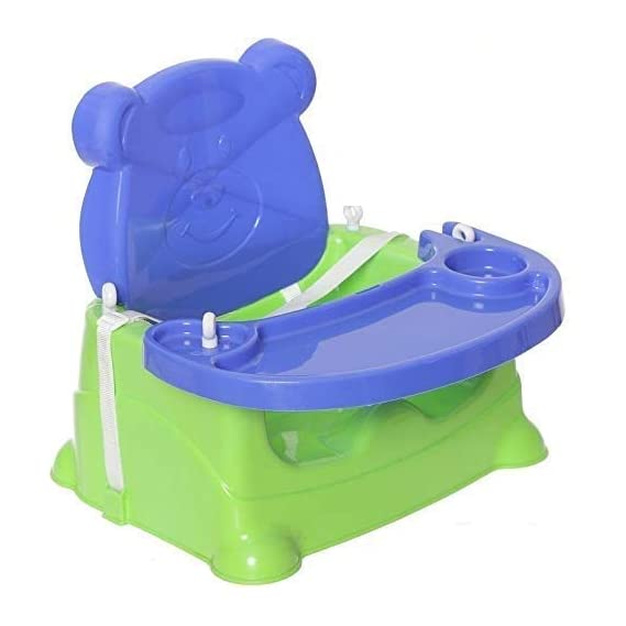 Varshine Kids Booster seat Cum Feeding Swing Chairs for Baby (Colour May Vary)
