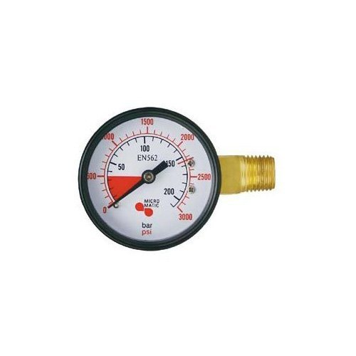 co2 regulator pressure gauge - 3