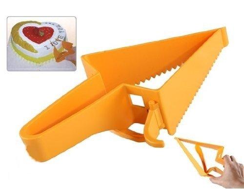 新しい到着、三角形デザイン調節可能なケーキカッターケーキサーバーDIY Bakingキッチン用品ケーキナイフ切断ナイフツール   B00XJQ5YI0