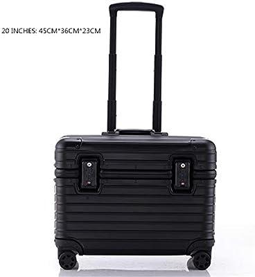Desconocido Maleta de aleación de Aluminio para cámara de Equipaje, Caja Universal para máquina de Transporte de 20 a 22 Pulgadas, Negro, 51 cm: Amazon.es: Hogar