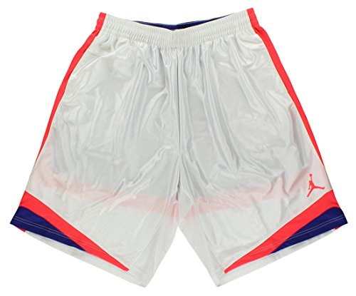 0eea79b4a6d772 Nike Air Jordan Men s Court Vision Basketball Shorts 576638 White 104 - Buy  Online in UAE.