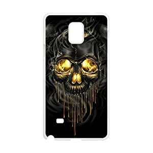 Shiny melting skull Cell Phone Case for Samsung Galaxy Note4