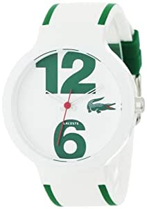 Lacoste Sportswear Collection Goa White Dial Unisex watch #2010543