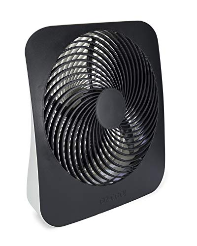 Best Buy! O2COOL 10-Inch Portable Desktop Air Circulation Battery Fan - 2 Cooling Speeds - With AC A...