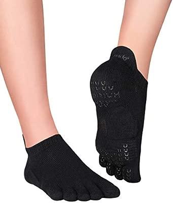 Knitido Plus Sora Calcetines Antideslizantes de Yoga y ...