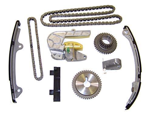 DNJ TK638 Timing Chain Kit for 2002-2006 / Nissan/Altima, Sentra / 2.5L / DOHC / L4 / 16V / 2500cc / QR25DE