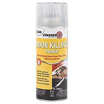 Rust-Oleum 305697 Odor Killing Primer Spray, 12 Oz