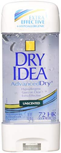 Dry idea Anti-perspirant Deodorant Clear Gel, unscented - 3 Oz