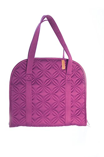Donna Sharp Designer Handbag For Women, Ladies and Girls, Roomy Colorful Quilted Fashionable Purse Bag (MAGENTA)