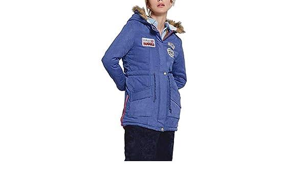 Chaqueta de algodón, BBestseller Invierno Abrigo Hooded Casual con Capucha Chaqueta de Lana Capa Jacket Parka Pullover: Amazon.es: Ropa y accesorios