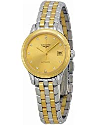 Longines La Grande Classique Two Tone Stainless Steel Ladies Watch L42743377