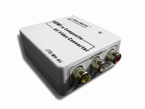 J-Tech Digital JTD-MH-AV Mini HDMI to Composite AV CVBS R/L HD Video Converter