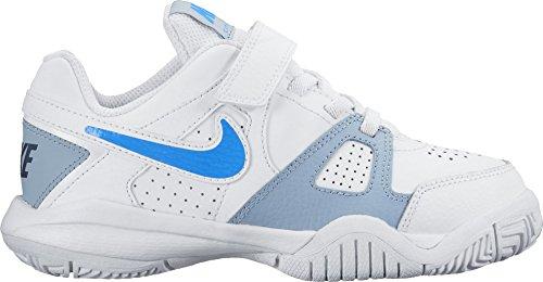 Nike City Court 7 (PSV) Zapatillas de tenis, Niños Blanco / Azul / Gris (White / Photo Blue-Blue Grey)