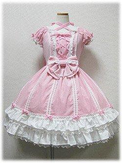 3170918b9 ゴスロリィタ Lolita ロリータ服 衣装 洋服 COSMAMA LLTLZY0021 ピンクとホワイト 半袖 ゴシック ゴスロリ プリンセス お嬢様