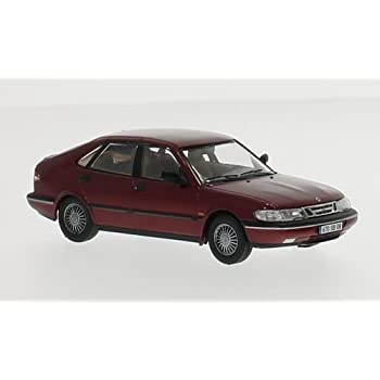 Saab 900 V6, metallic-dark red, 1994, Model Car, Ready-made, Premium X 1:43