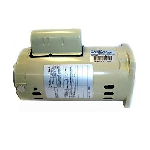 Pentair 355026S Almond 2 HP Single Phase Single Speed Square Flange Motor Replacement Pool and Spa Pump ()
