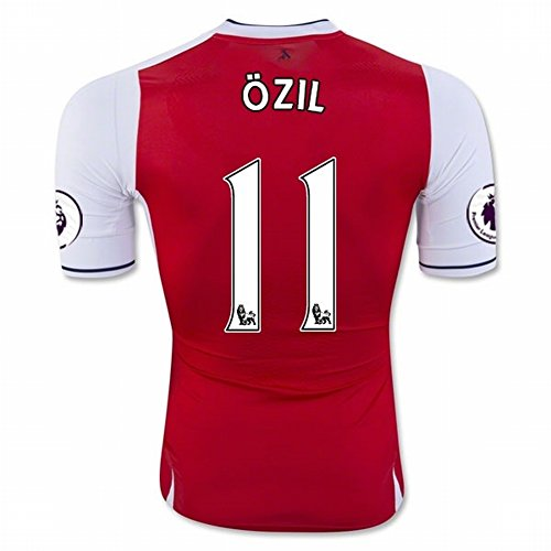 2016 2017 Arsenal 11 Mesut Ozil Home Football Soccer Jersey In Red For New Season