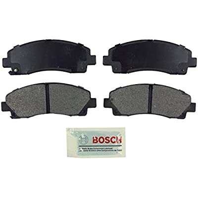 Bosch BE1102 Blue Disc Brake Pad Set for 2009-14 Acura TL and 2006-11 Honda Ridgeline - FRONT: Automotive